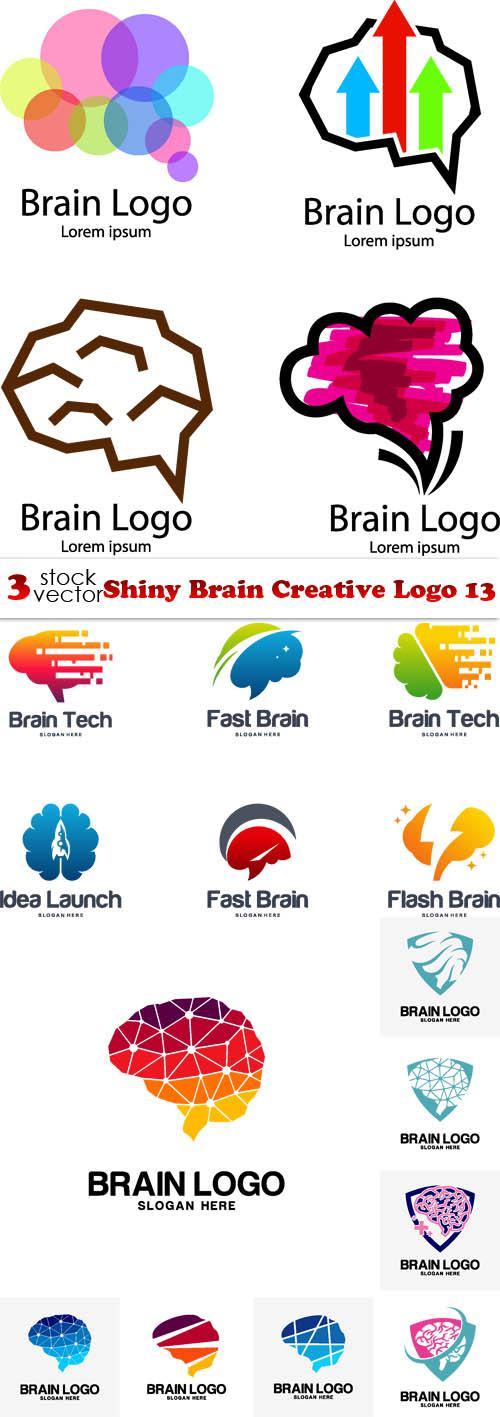 Shiny Brain Creative Logo 13