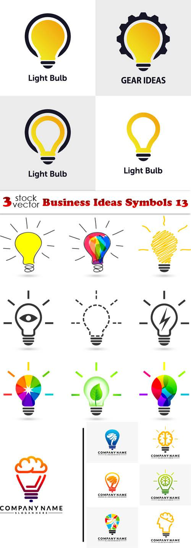 Business Ideas Symbols 13