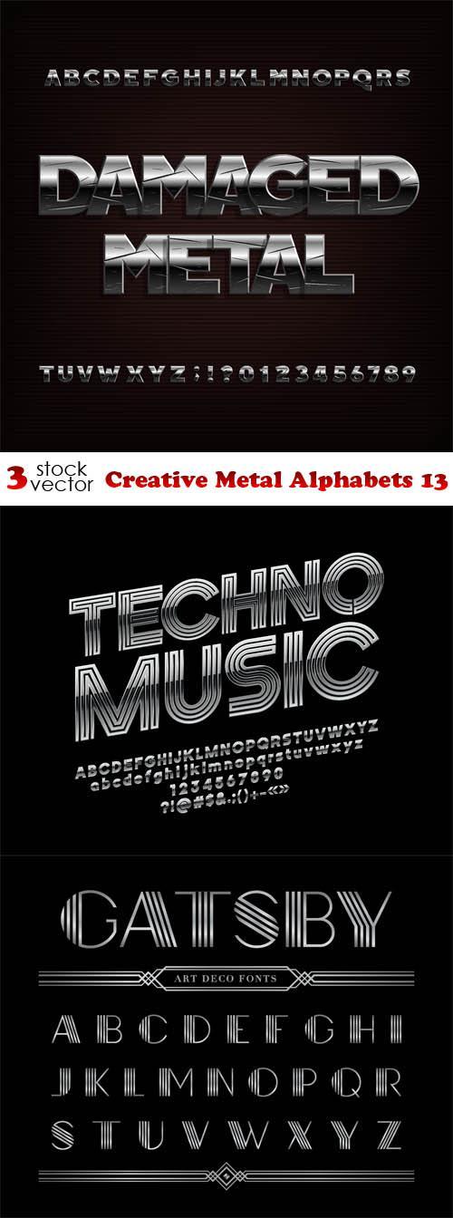 Creative Metal Alphabets 13