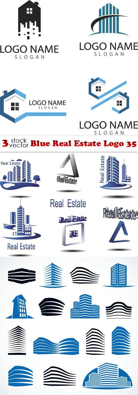 Blue Real Estate Logo 35