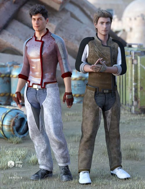 Sci-Fi Settler Outfit Textures