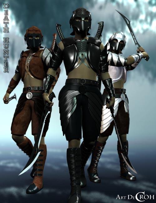 Death Hunter for Genesis 8 Male(s)