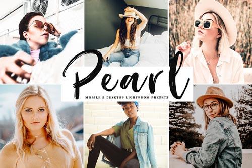 Pearl Mobile & Desktop Lightroom Presets - 271558