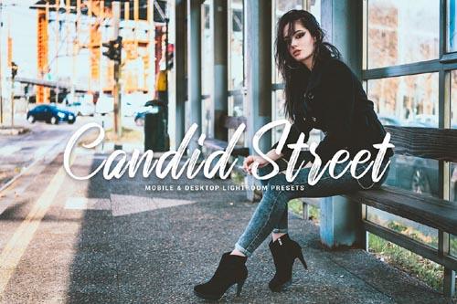 Candid Street Mobile & Desktop Lightroom Presets - 271563