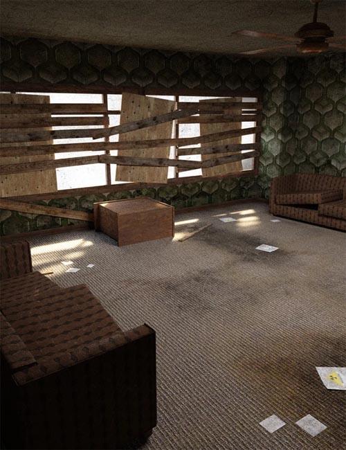 Post Apocalyptic Living Room