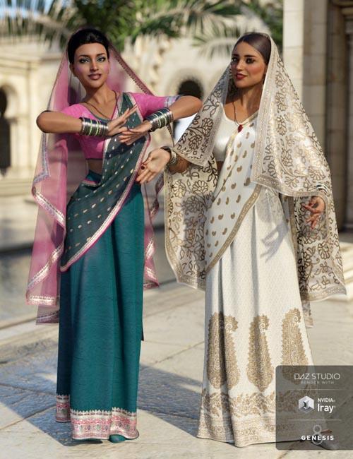 dForce Bollywood Bride Textures