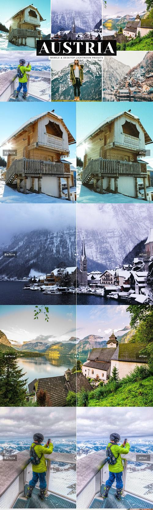 Austria Lightroom Presets Pack - 3874972