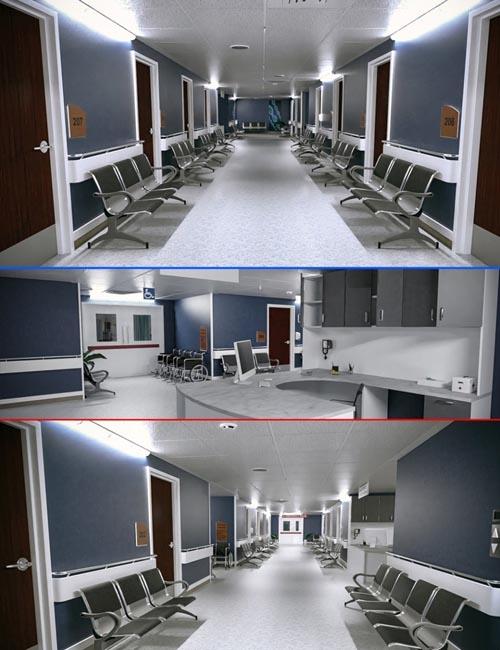 TS Hospital Corridor