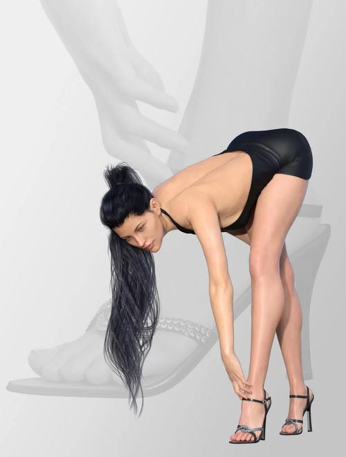 I Love High Heels, Poses and Shoes for Genesis 8 Female(s)
