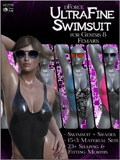 dForce UltraFine Swimsuit for Genesis 8 Females