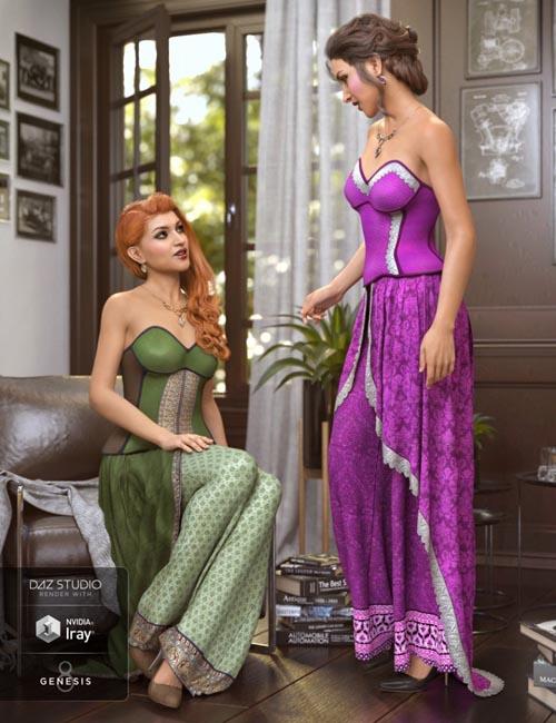dForce Raeni Outfit Textures