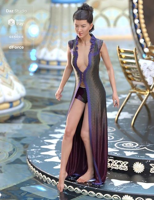 dForce Celeste Outfit for Genesis 8 Female(s)