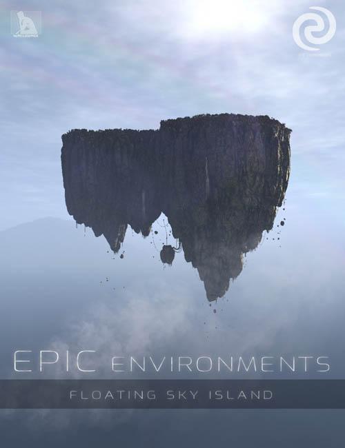 Epic Environments - Floating Sky Island