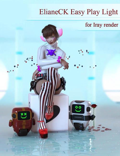 ElianeCK Easy Play Lights for Iray