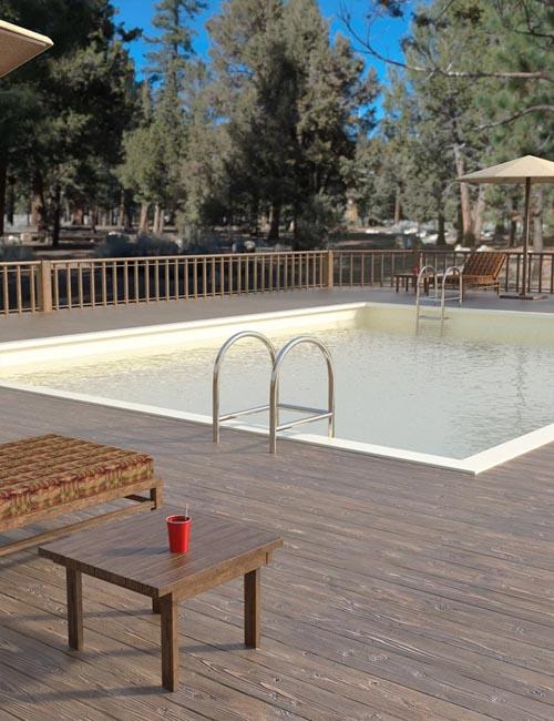 Ranch Pool Deck