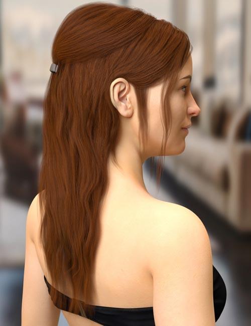 Agnes Hair for Genesis 8 Female(s)