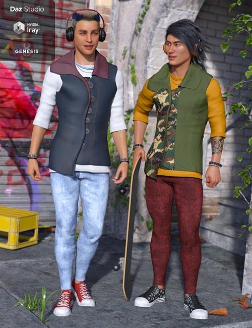 Hippusuta Outfit Textures