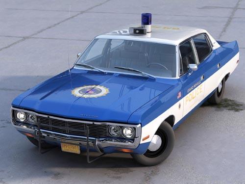 AMC Matador Police 1972
