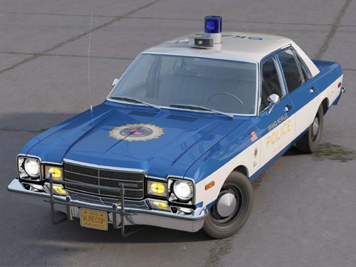 Plymouth Volare Police 1976