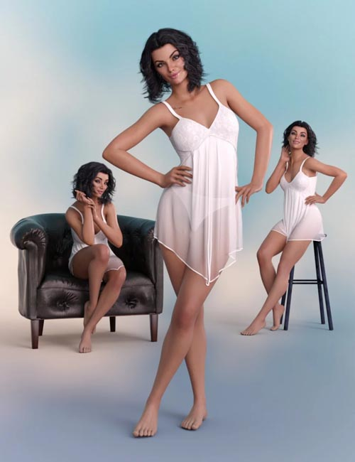 Graceful Poses for Genesis 8 Female