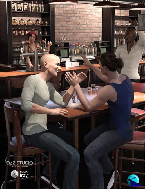Give You A Hand II: Hand Poses for Genesis 3 and Genesis 8 Male