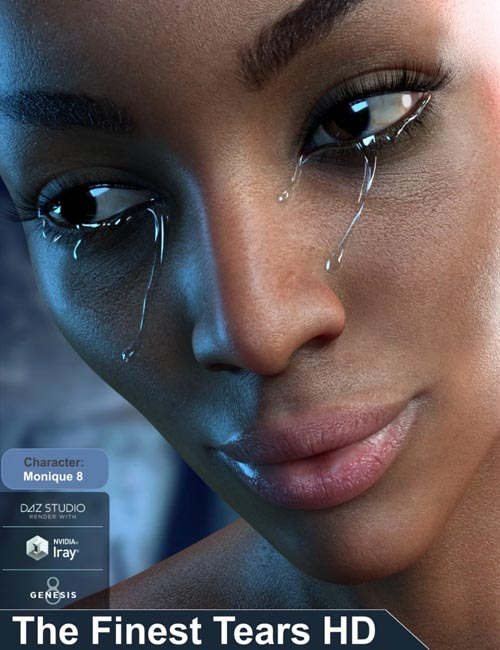 The Finest Tears HD for Genesis 8 Female(s)