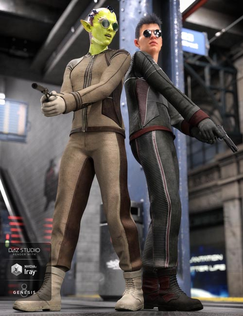 Intergalactic Spy Outfit Textures