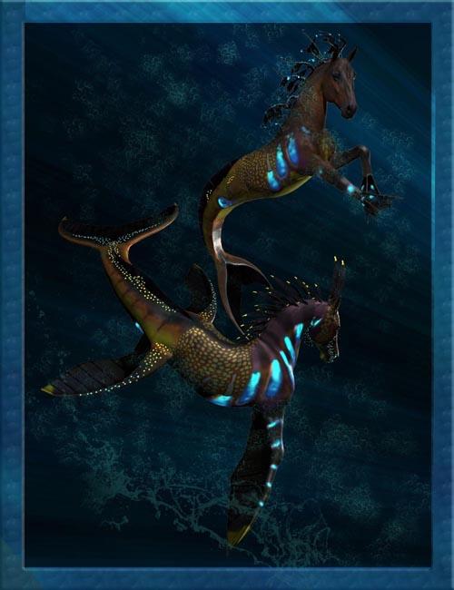 Seahorse Texture Addon