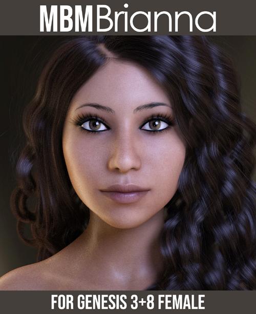 MbM Brianna for Genesis 3 & 8 Female