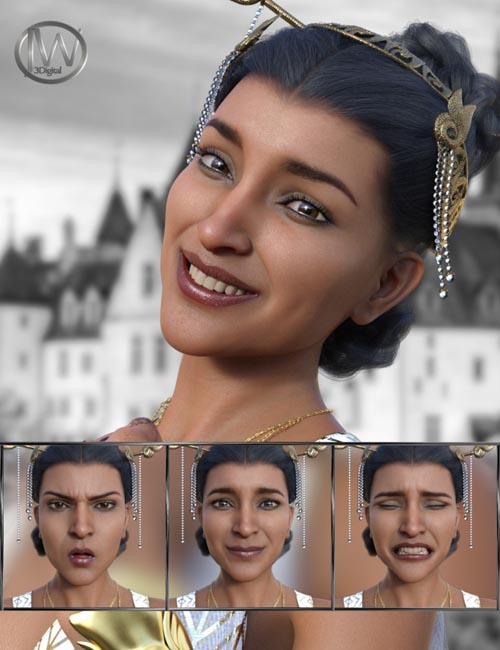 Like a Princess - Expressions for Genesis 8 Female and Kala 8
