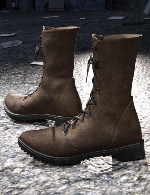 Rocker Boots for Genesis 8 Male(s)