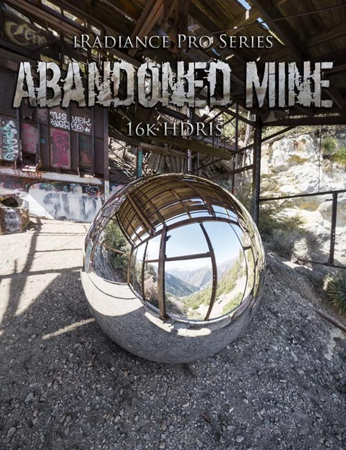 iRadiance Pro Series 16k HDRIs - Abandoned Mine