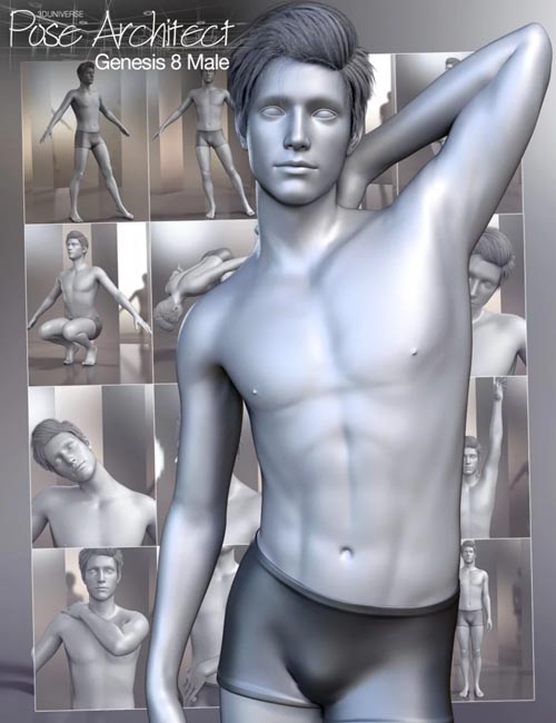 Pose Architect for Genesis 8 Male(s)
