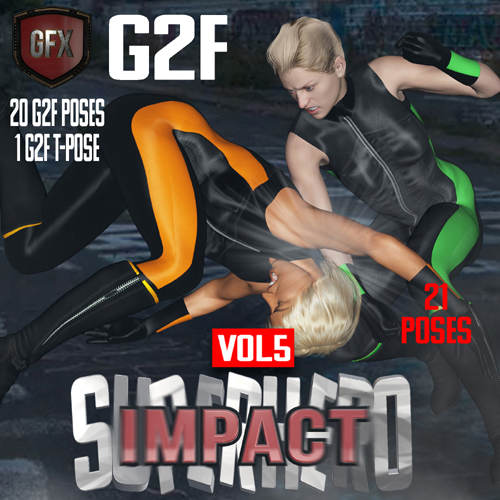 SuperHero Impact for G2F Volume 5