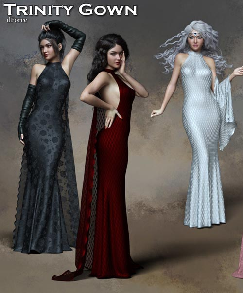 Trinity dForce Gown