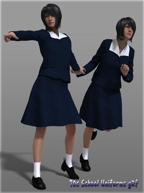70s School Uniforms g2f