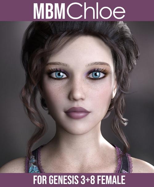 MbM Chloe for Genesis 3 & 8 Female