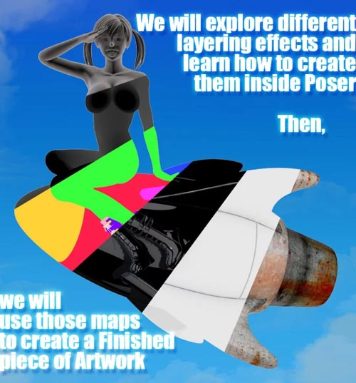 Poser Post Work 102 Render Passes