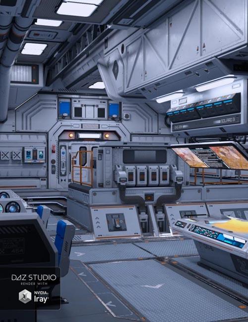 Solaris Control Cabin