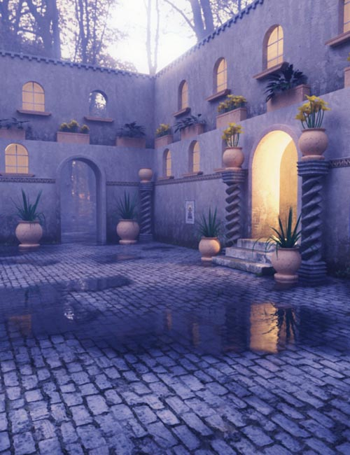 Italian Courtyard - Mini Set