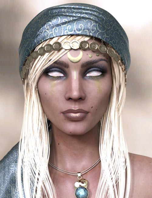 Ruby HD and Headscarf for Genesis 8 Female