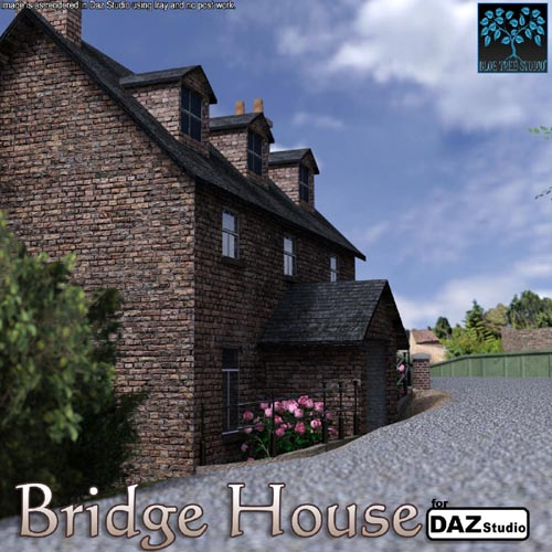 Bridge House for Daz Studio