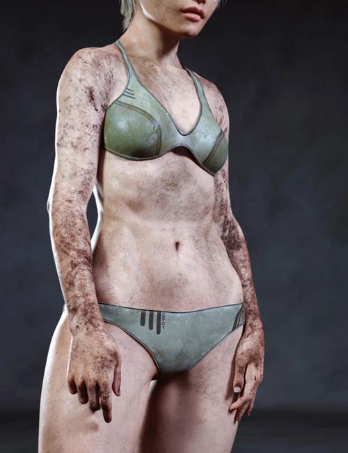 Skin Effects: Dirt for Genesis 3 and 8 Female(s)