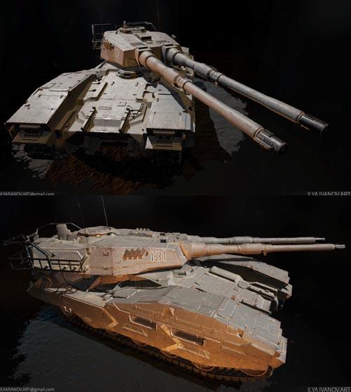 EFGF M61A5 Main Battle Tank