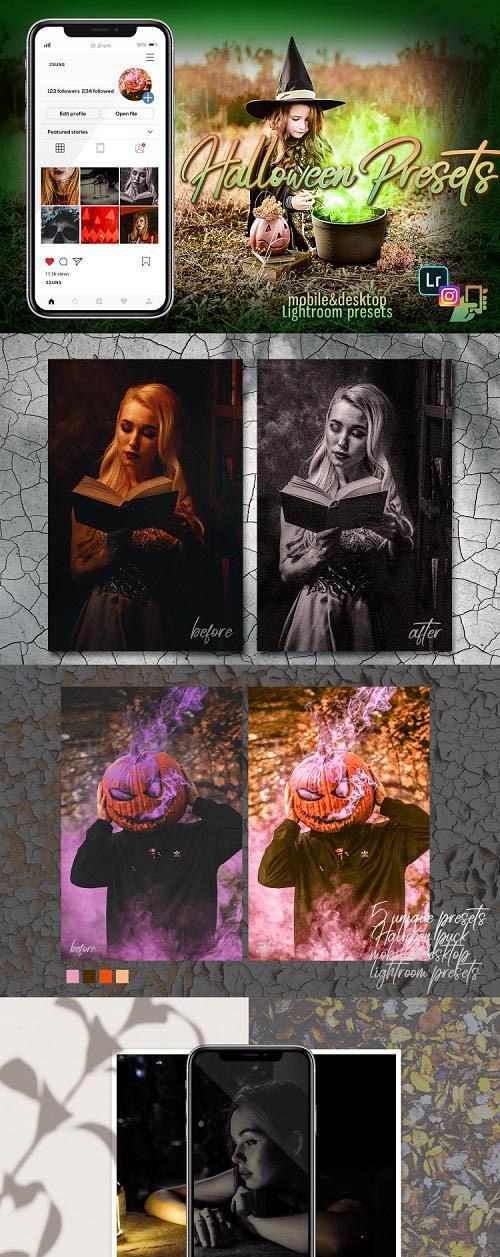 Autumn presets, Summer Lightroom Presets, halloween mobile - 307206