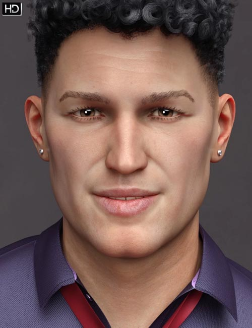 Curtis HD for Genesis 8 Male