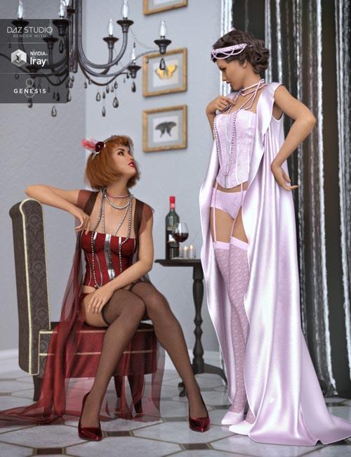 dForce 1920s Boudoir Textures