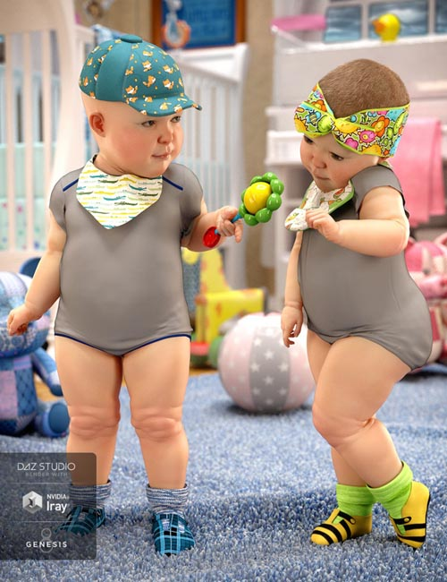 Baby Accessories for Genesis 8