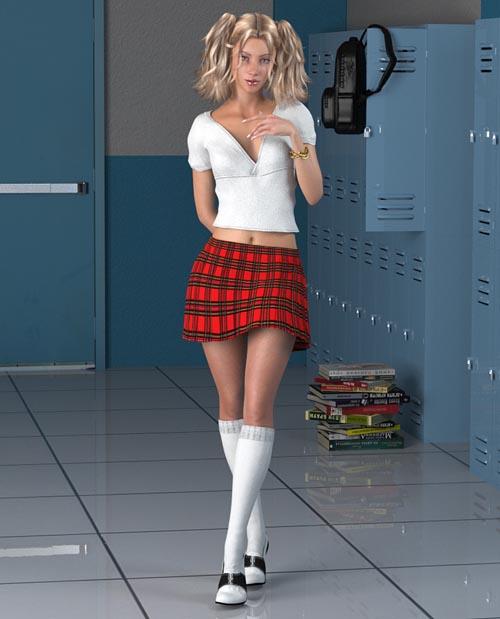 Schoolgirl for La Femme
