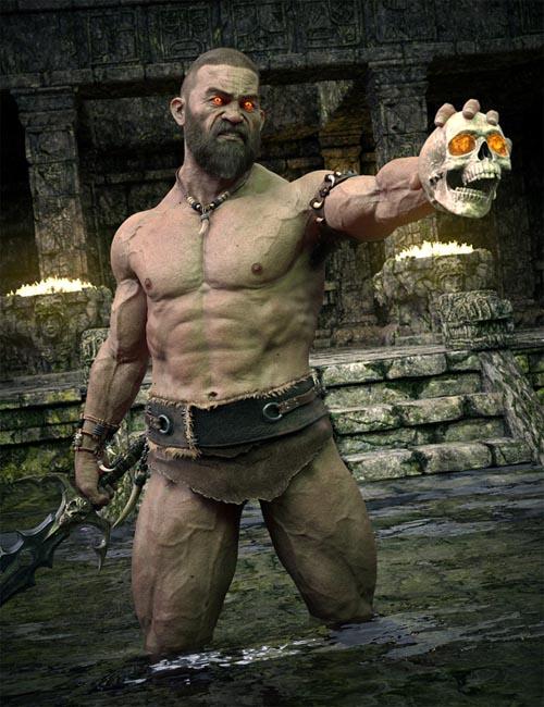 Dark Guard Character HD for Genesis 8 Male